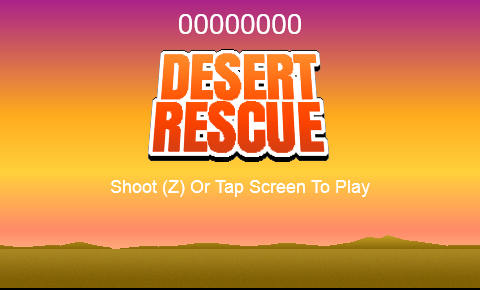 Desert Rescue screenshot