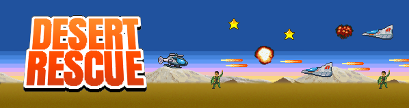 Desert Rescue game banner