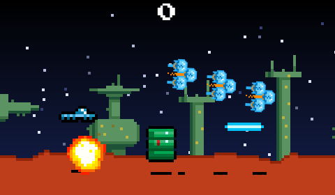 Lunar Patrol screenshot