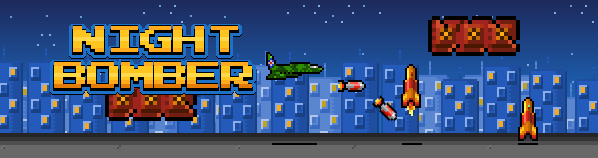 Night Bomber game banner